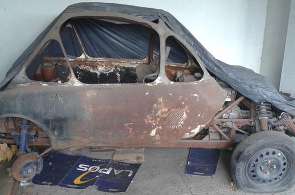 Car Heinkel Kabine
