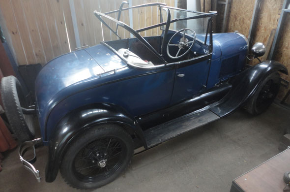 Car Ford A Roadster 1929