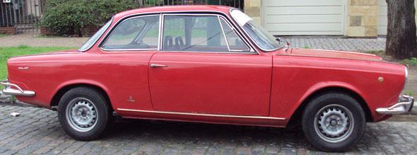 Car Fiat 1500 Coupé 1969