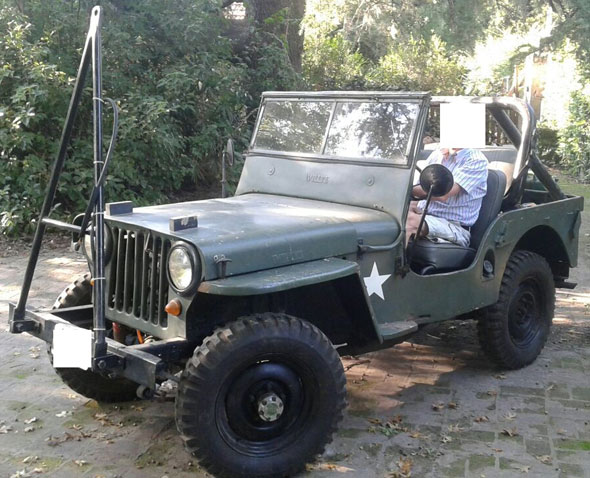 Car Jeep Willys