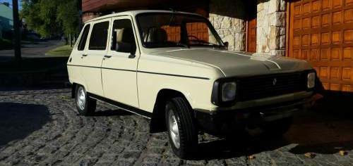 Car Renault 6 GTL