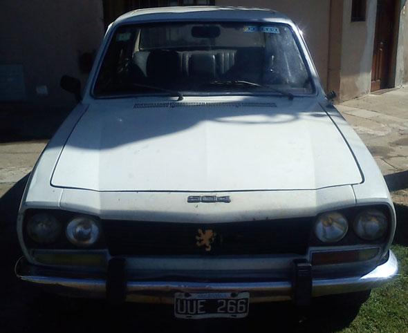 Car Peugeot 504