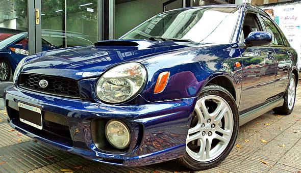 Car Subaru Impreza WRX
