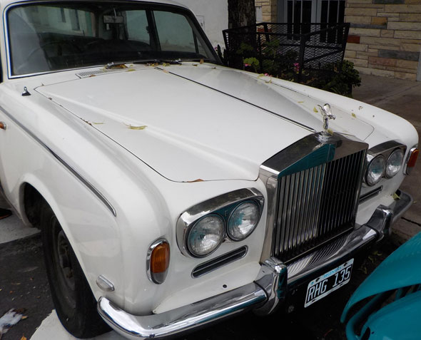 Car Rolls Royce Silver Shadow 1970
