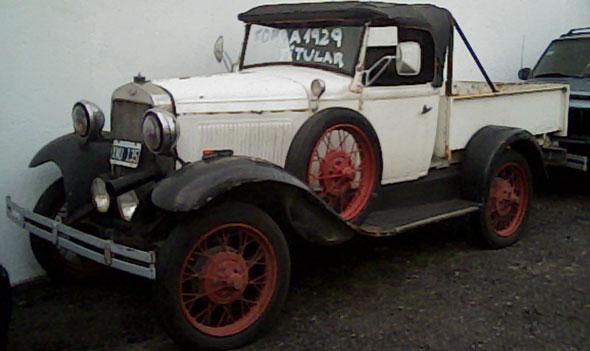 Car Ford A ó B