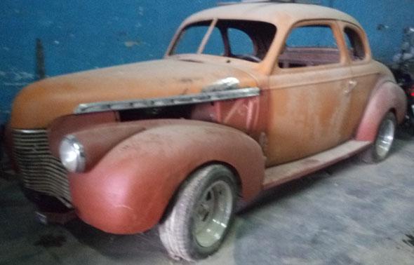 Car Chevrolet 1938 Coupé