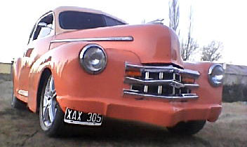 Auto Chevrolet 1946 Fleetline