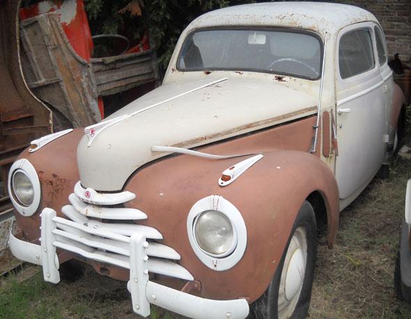 Auto Skoda Coupé 1955