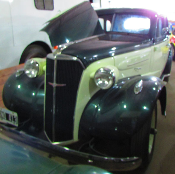 Car Chevrolet Sed�n 1937