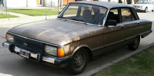 Car Ford Falcon 1984
