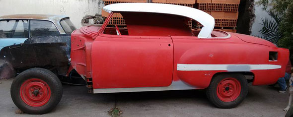 Auto Chevrolet Hardtop Sport Coup� 1954 Powerglide