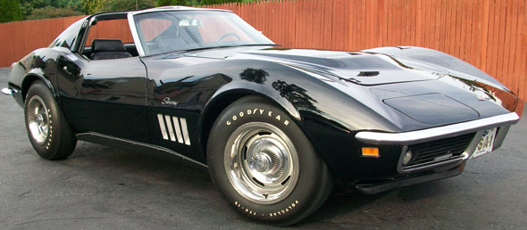 Car Chevrolet Corvette Stingray L 88 1969