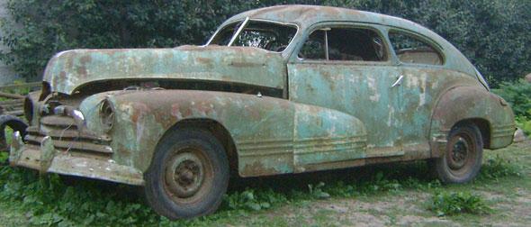Car Pontiac 1946