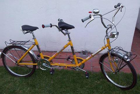 Bicicleta Lucerna Tandem Rodado 24