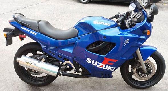 Auto Suzuki GSX 600