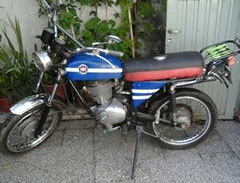 Car Gilera Macho 200 1974