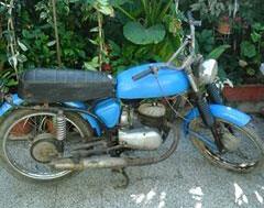 Car Zanella 125 1968