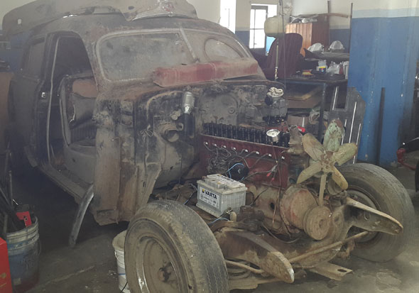 Auto Buick 1947