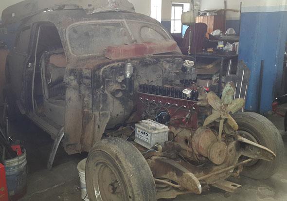 Car Buick 1947