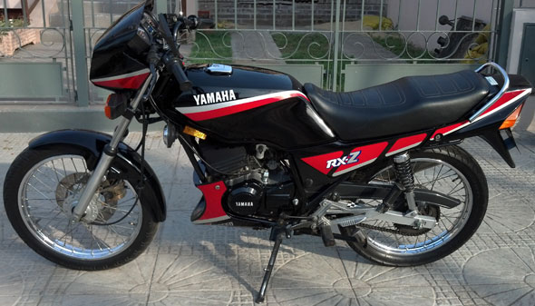 Car Yamaha RXZ 135 6 Speed 2 T 1994