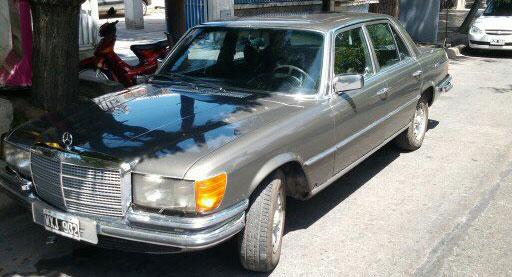 Car Mercedes Benz 280S