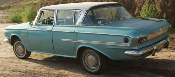Car IKA Rambler Ambassasdor 400