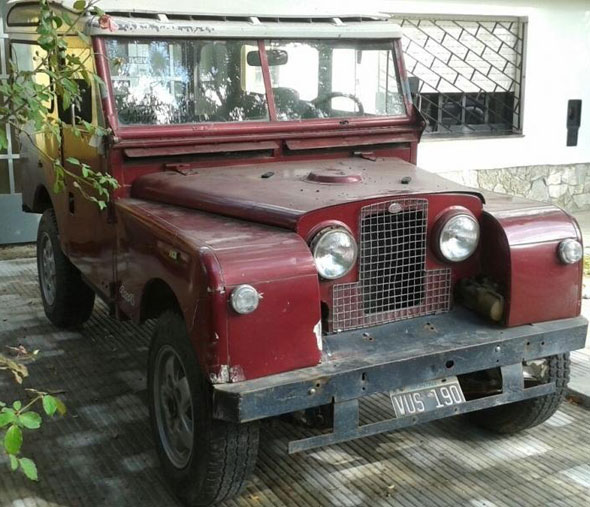 Auto Land Rover Serie 1