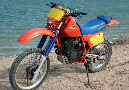 Motorcycle Honda XR 500R