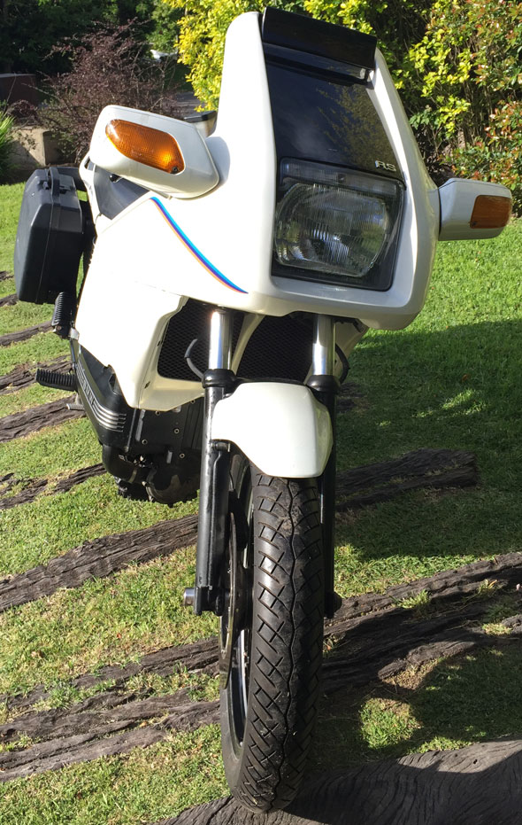 Motorcycle BMW K100 RS Aniversario