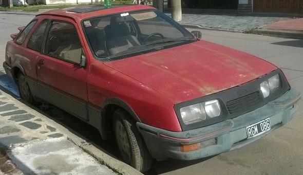 Car Ford 1986