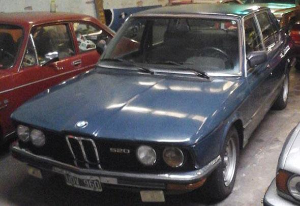 Car BMW 520