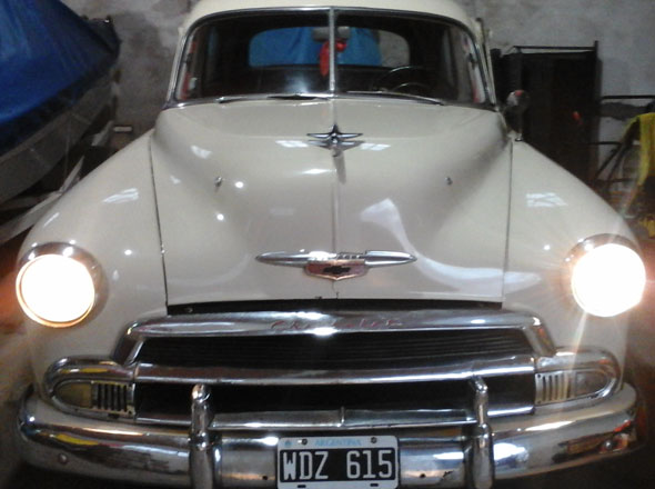Car Chevrolet Bel Air Styleline 1951