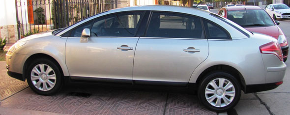 Car Citroen C4 HDI-SX 2009 Full