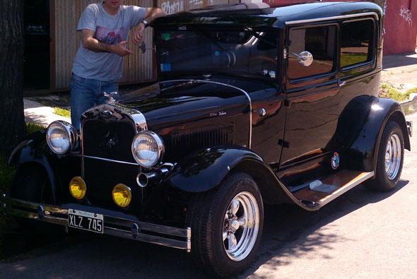 Auto Ford A Tudor 1931
