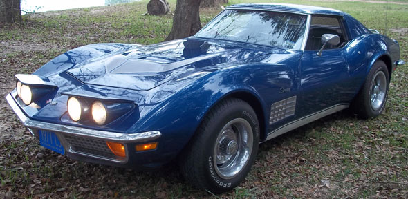 Auto Chevrolet Corvette 1971 Coupé