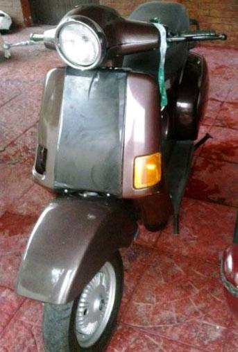 Motorcycle Vespa Cosa 125
