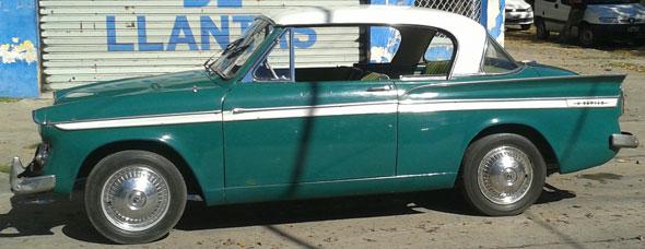 Auto Sumbean Rapier 1960