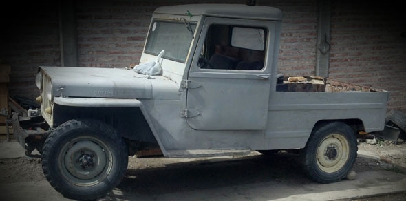 Auto Willys GPW Jeep 1944