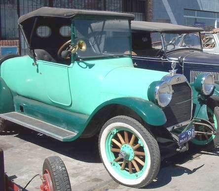 Auto Studebaker Coupé Convertible 1917