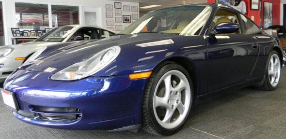 Car Porsche 911 Carrera 4