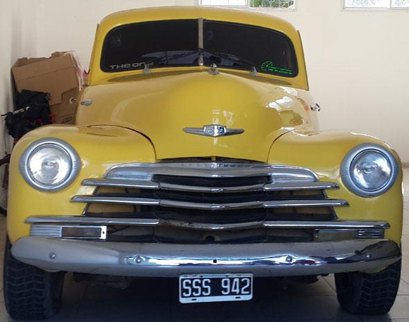Car Chevrolet Stylemaster 1947