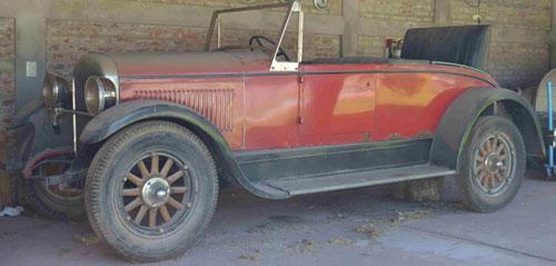 Car Reo 1926