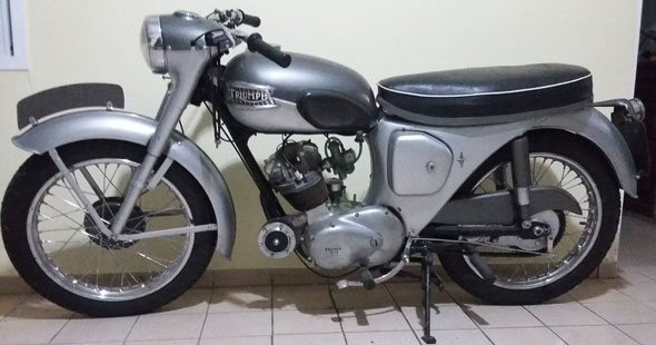Motorcycle Triumph 1961