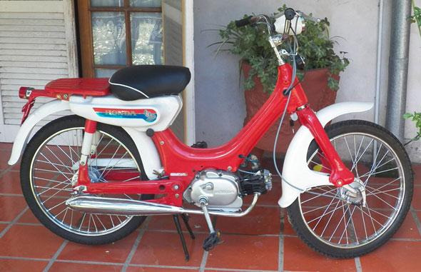Moto Honda PC 50 Corvex