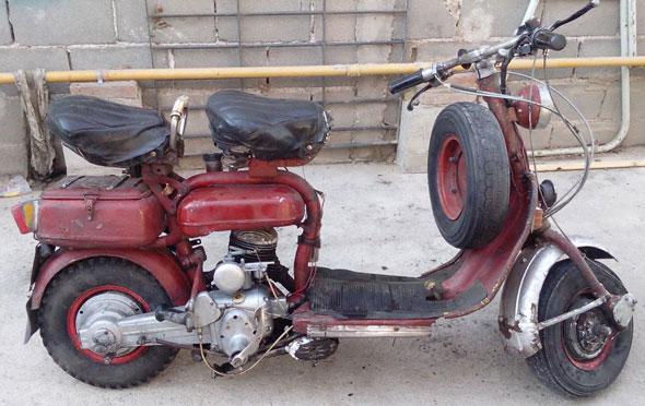 Motorcycle Siambreta 125 Standard