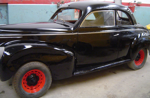 Car Ford Mercury 1939 Coupé