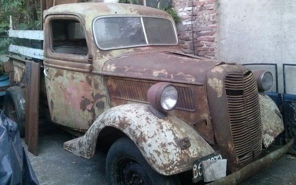 Auto Ford 1937