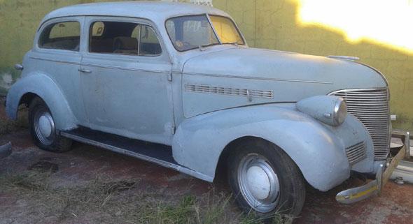 Car Chevrolet 1939