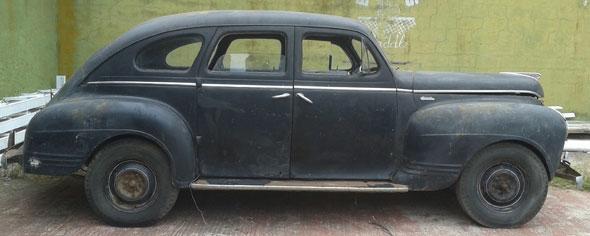 Car Plymouth 1941