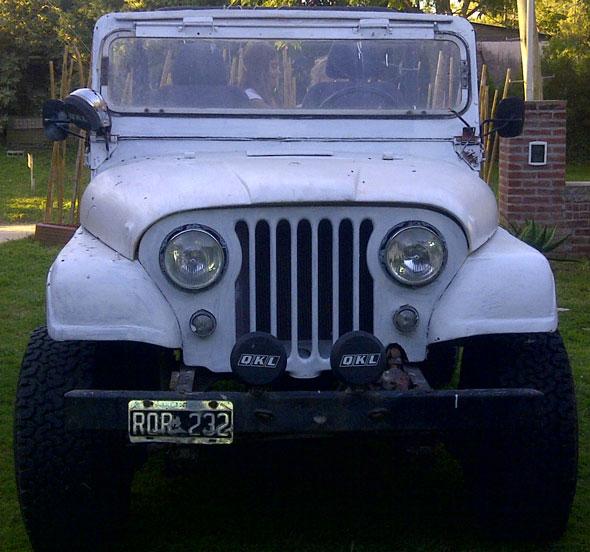 Auto Jeep IKA 1959